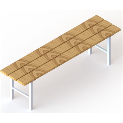 Image for Free-standing sitting bench  1500