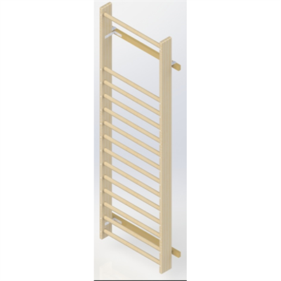 Image for Wall Bars UNISPORT High 2475 mm 1 Section