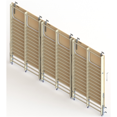 Image for Wall Bar Stage  UNISPORT,  3  modules