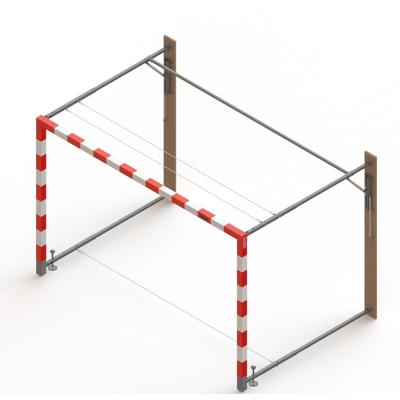 Image for Handball goal with gas springs