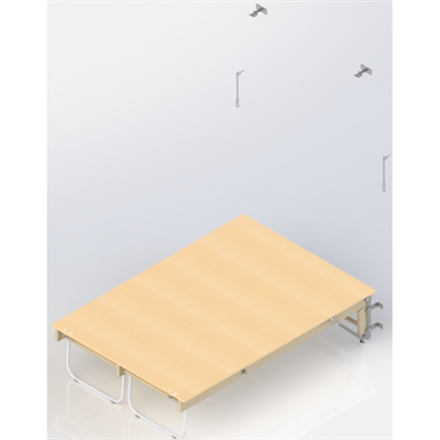 Image for Wall Bar Stage  UNISPORT,  1  module
