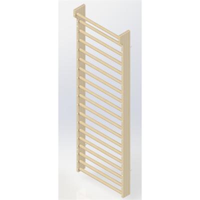 Image for Wall Bars 19-bars DK 2510 mm 1 Module