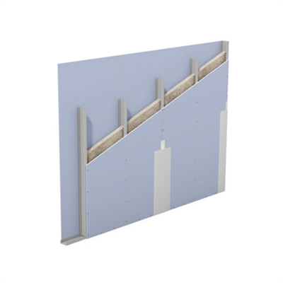 W111.de – Knauf Metal Stud Partition – Single metal stud frame, single-layer cladding 이미지