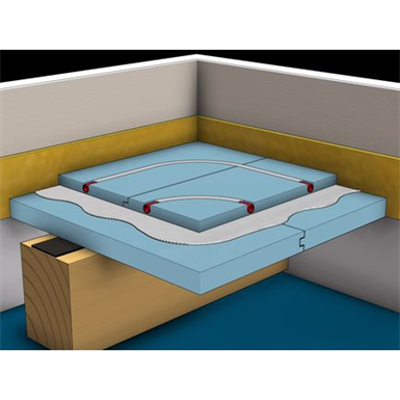 Image for F193.de Knauf Integral GIFAfloor FHBplus Clima - heating panelled access floors double-layer on bearing structure