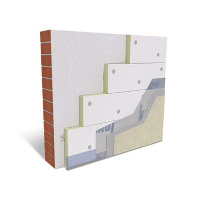 Image for P327b.de Knauf WARM-WALL PF Slim with mineral / organic plastersystem