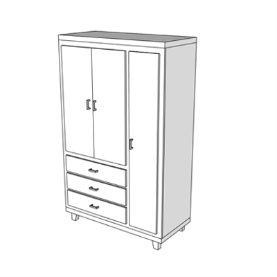 Image for F0555 - Wardrobe, Patient Clothing