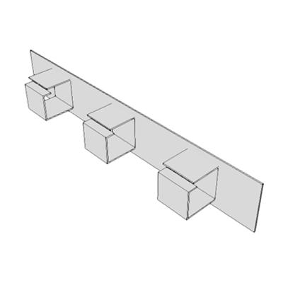 Image for A0901 - Cable Management, Horizontal Base Unit