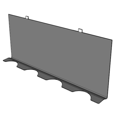 Image for A0903 - Rear Hinged Cover, for LAN Rack