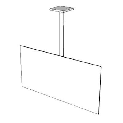 Obrázek pro A5215 - Bracket, Television, Ceiling Mounted
