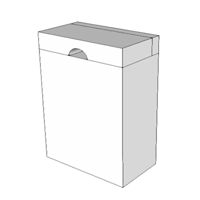 Image for A5090 - Disposal, Sanitary Napkin, SS, Surface Mounted