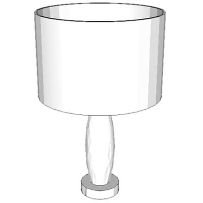 bild för F2420 - Lamp, Table, With Shade