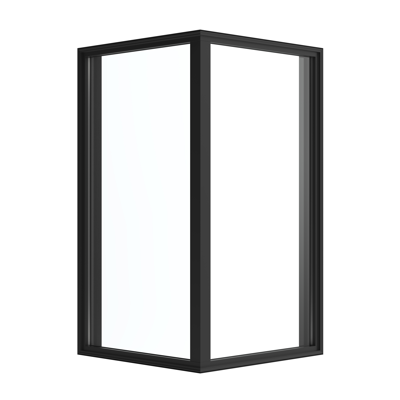 Image for Pella® Reserve™ - Contemporary Fixed Frame Mitered Corner Window