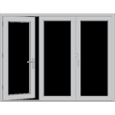 Image for Pella® Reserve™ - Traditional Bifold Patio Door