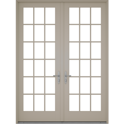 Image for Pella® Reserve™ - Traditional Out-Swing Patio Door