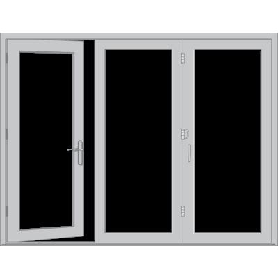 Image for Pella® Reserve™ - Contemporary Bifold Patio Door