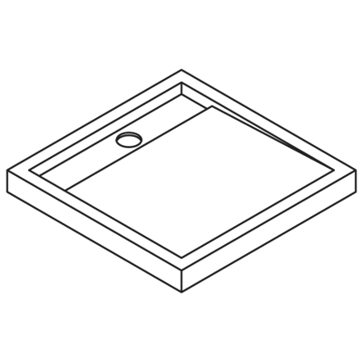 Image for Appeal  APQ80 Shower tray