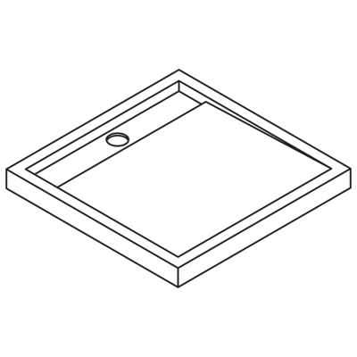 Image for Appeal  APQ90 Shower tray