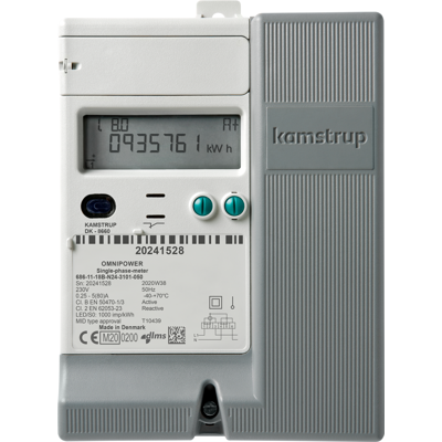 Image for OMNIPOWER 1ph Electricity meter