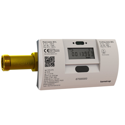 kép a termékről - MULTICAL® 302, qp 0.6 m³/h, G¾B (R½) x 165 mm, heat meter, cooling meter or combined heat/cooling meter