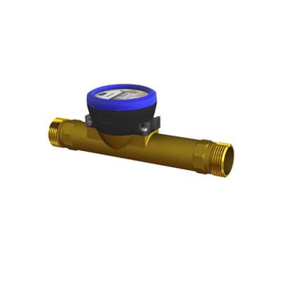 kép a termékről - flowIQ®3100, Q3=6,3 m³/h, G5/4B (R1)x260 mm, Q3/Q1=160, water meter
