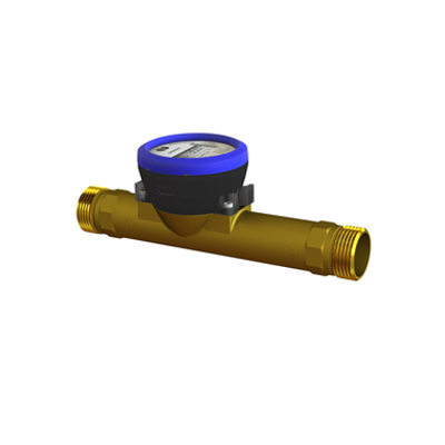 kép a termékről - flowIQ®3100, Q3=10 m³/h, G5/4B (R1)x260 mm, Q3/Q1=100, water meter
