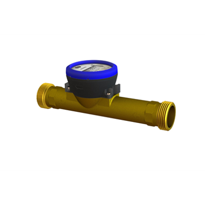 kép a termékről - flowIQ®3100, Q3=6,3 m³/h, G1½B(R5/4) )x260 mm, Q3/Q1=160, water meter