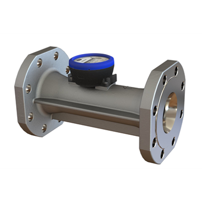 kép a termékről - flowIQ®3100, Q3=63 m³/h, DN80x300 mm, Q3/Q1=160, water meter