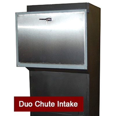 Image for Recycling Duo / Trio Chute, Stainless Steel Door
