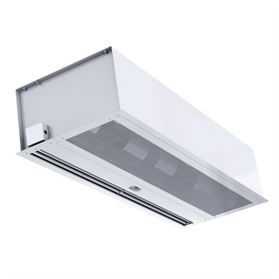 Image for ARC16 - Hot Water - Berner Architectural Recessed 16 Air Curtain