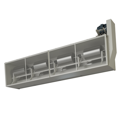 Image for IBC30 - Steam - Berner Industrial Belt Drive 30 Air Curtain