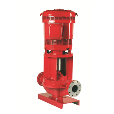 Image for Vertical In-Line HVAC Pumps, Remote Coupled, Frames 286 and Smaller
