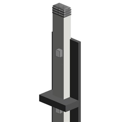 Image for Schiedel REI PANNEL Filtri Fumo REI 120 Sistema Doppio Ramificato 3035 con rivestimento su tre lati
