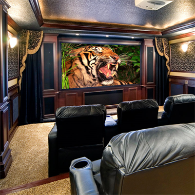 Image for Clarion Fixed Projection Screen
