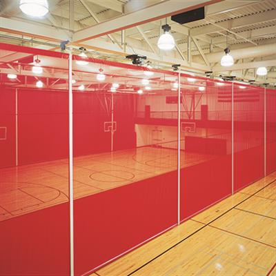 Image for Roll-Up Gym Divider