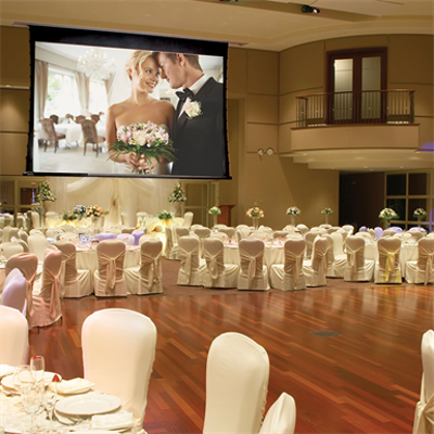 Image pour Ultimate Access XL V Motorized Projection Screen