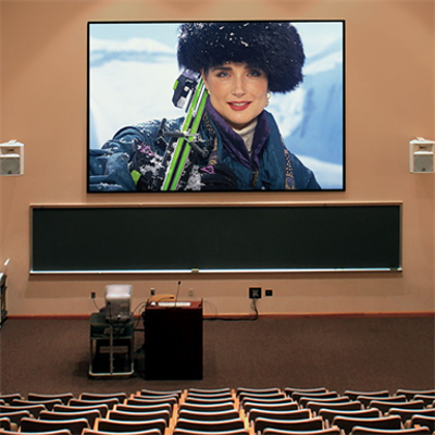 Image pour ShadowBox Clarion Fixed Projection Screen