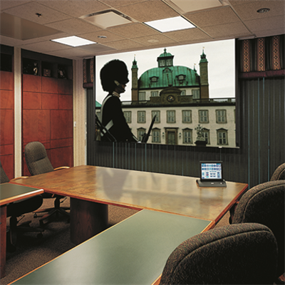 Image for Ultimate Access E Motorized Projection Screen