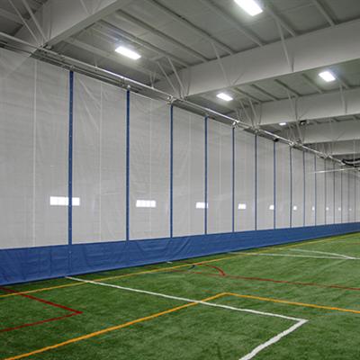 Image for Fold-Up Gym Divider