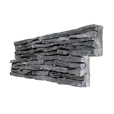 Image for Stonepanel Jet Dark Thin Set