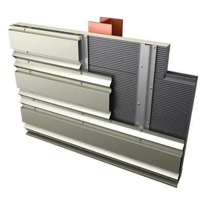 รูปภาพสำหรับ SAB Sandwich Panels - Carrier Through fix wall cladding panel system