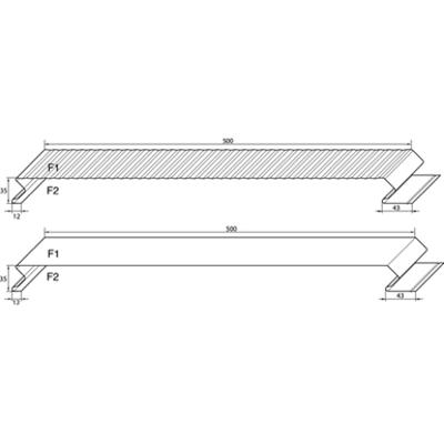 imagem para Monopanel - Plank Profiles - Facade  Rainscreen Cladding Profiles for Architectural Wall Cladding systems