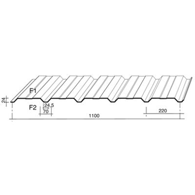 รูปภาพสำหรับ Monopanel - Wall Profiles - Facade Cladding Profiles for Architectural Wall Cladding systems