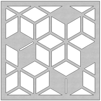 Image pour SCG Fretwork Cube-2