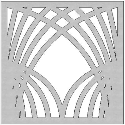 Image for SCG Fretwork HASU-2