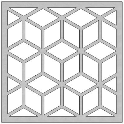 Image for SCG Fretwork Cube-1