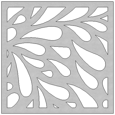 Image for SCG Fretwork Leaves