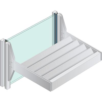Image for Versoleil ® SunShade - Outrigger System - for Storefront