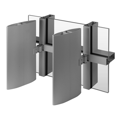 Image for Versoleil ® SunShade - Single Blade System - for Curtain Wall