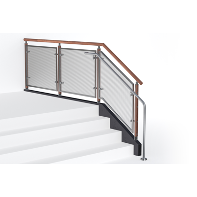 Image for FIN Perf Metal Railing System