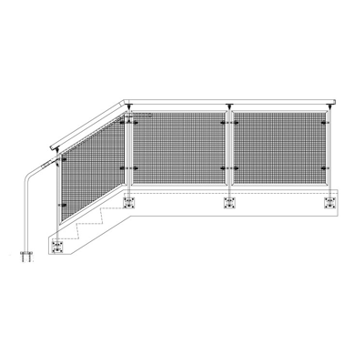 Image for BEACON Wire Mesh Railing System
